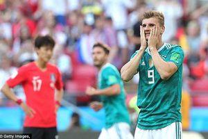 Tuyển Đức thành cựu vô địch sau khi bị Hàn Quốc hạ knock-out