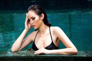 Á hậu Thanh Trang khoe dáng nóng bỏng với bikini