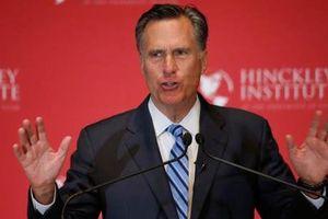 Tỉ phú Mitt Romney quay trở lại chính trường Mỹ