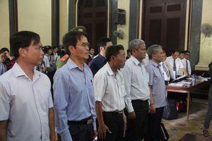 Các bị cáo trong vụ án nguyên Phó thống đốc NHNN cho rằng, sai phạm chỉ là thiếu quyết liệt