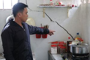 Nổ mìn thi công thủy điện ở Đắk Nông gây hư hỏng nhà dân