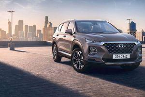 Hyundai Santa Fe 2019 chốt giá từ 584 triệu đồng, bán ra tại Việt Nam trong năm 2019