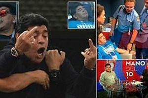 Maradona: Bác sĩ khuyên tôi ra về nhưng làm sao tôi có thể đi
