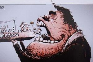 Khi tranh biếm họa tham gia chống tham nhũng