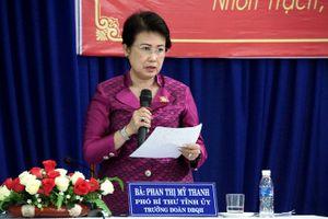 Bà Phan Thị Mỹ Thanh giữ 'kỷ lục' số lần đi nước ngoài