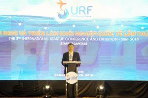 Khai mạc Hội nghị và Triển lãm khởi nghiệp quốc tế Đà Nẵng lần 3 - SURF 2018 - Bước phát triển mới của hệ sinh thái khởi nghiệp ven biển