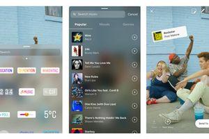 Instagram cho phép người dùng thêm nhạc vào các câu chuyện