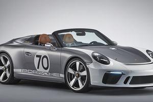Vẻ đẹp khó cưỡng của siêu xe mui trần thuần chủng Porsche 911 Speedster