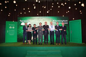 Heineken Việt Nam tiếp tục truyền cảm hứng sống Xanh