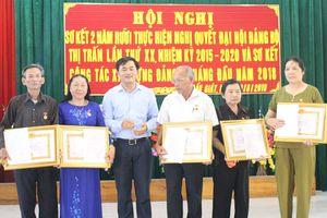 Trao Huy hiệu Đảng tại các địa phương Quỳnh Lưu, Anh Sơn, Thái Hòa