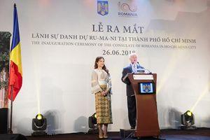 Khai trương Lãnh sự quán danh dự và ra mắt Lãnh sự danh dự Rumani