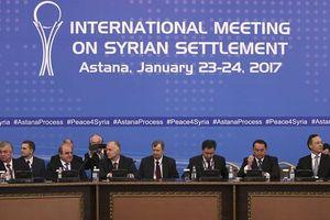 Đàm phán Astana về Syria sẽ diễn ra tại Sochi vào cuối tháng 7