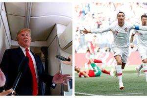 Tổng thống Mỹ thắc mắc về sự vĩ đại của Cristiano Ronaldo