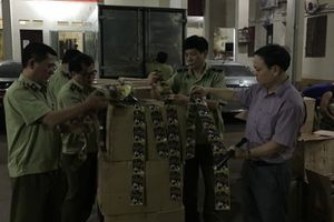 Lạng Sơn: Bắt giữ số lượng lớn mỹ phẩm nhập lậu từ Trung Quốc