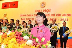 Bà Trần Thị Diệu Thúy tái đắc cử Chủ tịch LĐLĐ TP Hồ Chí Minh