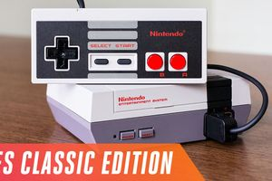 Trải nghiệm máy chơi game Nintendo NES Classic