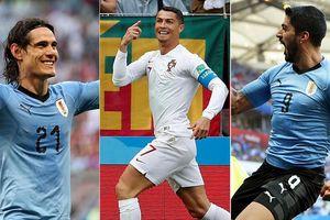 Ronaldo 'chấp kèo' Suarez và Cavani trước giờ G