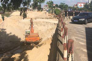 Thị xã Phổ Yên - Thái Nguyên: Nhiều bến bãi hoạt động lộn xộn, không phép