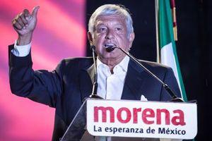 Chính trị gia phe cánh tả đắc cử Tổng thống Mexico