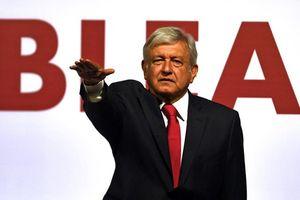 Ứng viên Tổng thống Mexico Obrador dẫn đầu thăm dò dư luận