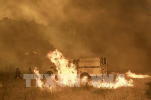 Mỹ: Bang California ban bố lệnh sơ tán bắt buộc do cháy rừng