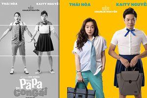 Phim 'Hồn Papa, da con gái' của Thái Hòa - Kaity tung poster mới, xin lỗi khán giả sau scandal 'sao chép'