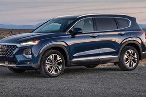 Hyundai Santa Fe 2019 chốt giá bán khiến nhiều người 'ngã ngửa'