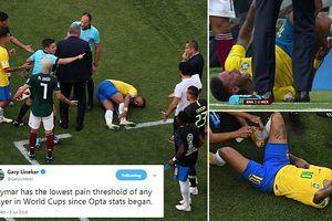 Ăn vạ không thành, Neymar bị chế nhạo là kịch sĩ