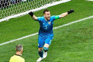 Highlights trận Nga 1-1 Tây Ban Nha (pen 4-3): 'Bò tót' về nước