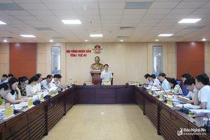 HĐND tỉnh cho ý kiến về 2 nội dung giám sát trong năm 2019