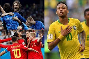 8 đội tuyển sáng giá của tứ kết World Cup 2018: Họ là những ai và có thật sự xứng đáng?