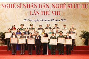 Bộ VHTTDL lấy ý kiến về 380 hồ sơ xét tặng danh hiệu NSND, NSƯT: Các hội đồng chuyên ngành đã bỏ phiếu khách quan với từng trường hợp