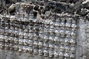 Tìm thấy tháp sọ người Aztec 500 năm tuổi