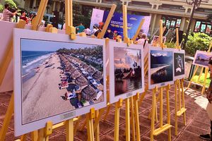 'Sắc màu của biển' giành giải Nhất cuộc thi ảnh 'Tôi yêu Việt Nam'