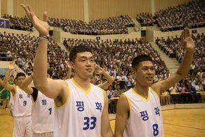 'Ngoại giao bóng rổ' diễn ra tưng bừng giữa Triều Tiên và Hàn Quốc