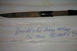 Lưỡi dao đòi quyền sống