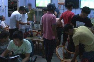 Triệt phá ổ cá độ mùa World Cup ở quán cà phê