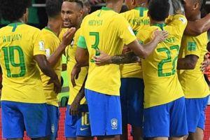 SỐC: Brazil sớm công bố đội hình trận gặp Bỉ