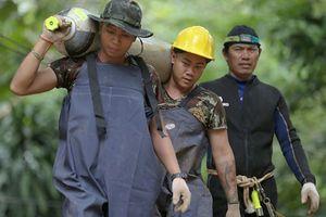 Giải cứu đội bóng Thái Lan: Khẩn trương trước đợt mưa lớn