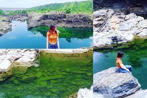 Ngày nắng đến khám phá hồ nước xanh thơ mộng được mệnh danh là 'Tuyệt Tình Cốc' ở Tây Nguyên