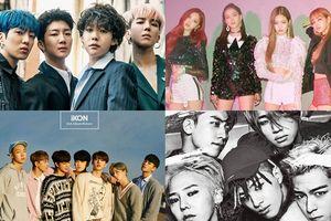 Vượt mặt SM và Big Hit, đây là những 'chiến binh' giúp YG thống trị BXH nhạc số nửa đầu năm 2018