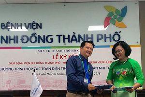 Ký kết hợp tác toàn diện giữa 3 bệnh viện sản nhi TPHCM