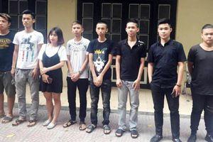 Khởi tố nhóm thanh niên đua xe trái phép ở Hà Nội