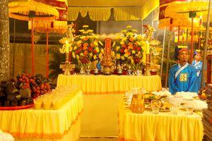 Lần đầu tiên tổ chức lễ tế Đàn Âm Hồn theo nghi thức cung đình