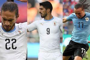 Đội hình dự kiến của Uruguay trước Pháp: Hồi hộp chờ Cavani