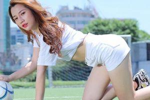 Hotgirl xứ Kinh Bắc dự đoán tuyển Anh 'đè bẹp' Thụy Điển