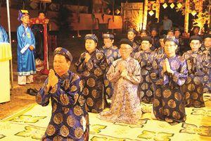 Phục dựng lễ tế đàn Âm hồn theo nghi thức triều Nguyễn