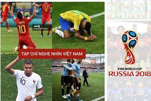 Hai đại diện đầu tiên lọt vào vòng Bán kết World Cup 2018