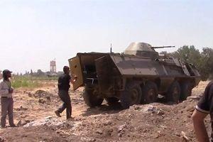 Quân đội Syria thu chiến lợi phẩm hàng hiếm tại Daraa