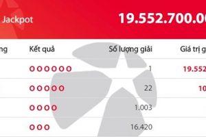 Xổ số Vietlott: Tìm ra địa chỉ phát hành tờ vé số trúng thưởng hơn19 tỷ đồng